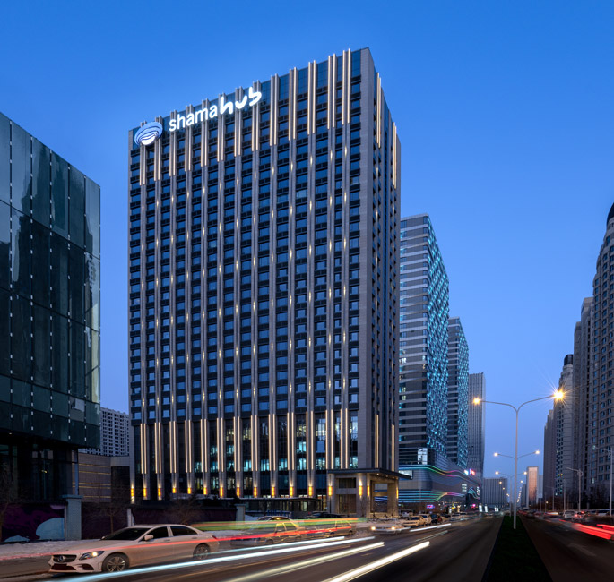 Location - Shama Hub New City Changchun
